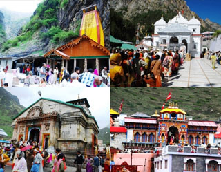 Char Dham Yatra with Chandigarh Tour